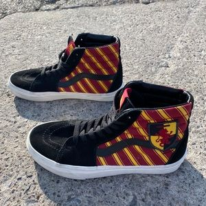 Harry Potter Gryffindor Hi-Top Vans